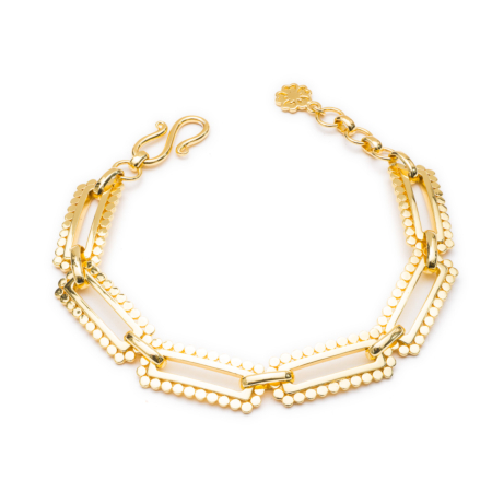 Chunky Oblong Chain Bracelet