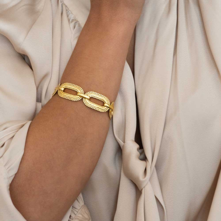 Chunky Oval Link Chain Bracelet